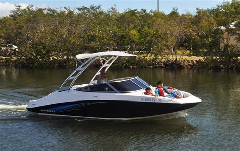 boat rentals on miami beach rent a yamaha ar190 19 motorboat in miami beach fl on sailo