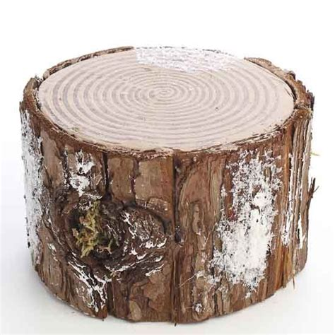 Decorative Tree Stumps decorative artificial winter tree stump things 1st
