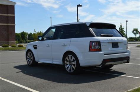 range rover white interior sell used 2013 land rover range rover sport supercharged