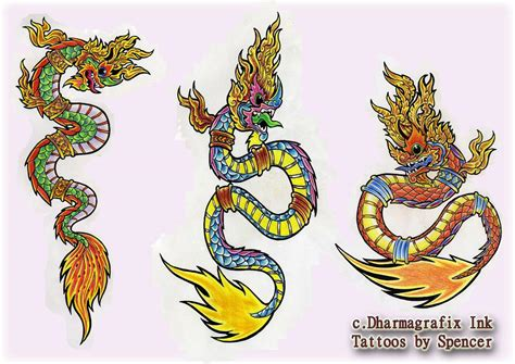 thai dragon tattoo designs thai designs tattoos by spencer thailand