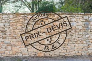 Prix D Un Mur De Cloture 3778 by Prix De Pose D Un Mur De Cl 244 Ture Et Exemple De Devis