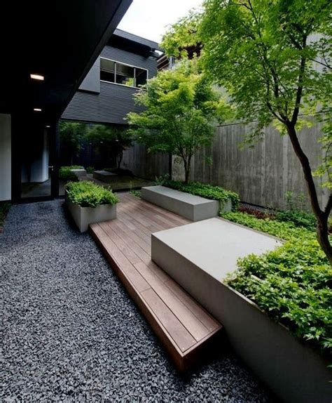 modern landscaping ideas for backyard 25 best ideas about modern backyard on modern