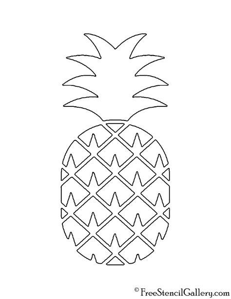 pineapple  stencil  stencil gallery