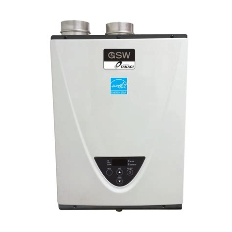 gas tankless water heater gsw n2073 powered by takagi condensing tankless gas water heater gas energy