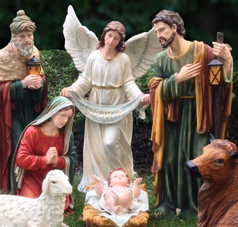 large outdoor nativity clearance sale nativity sets