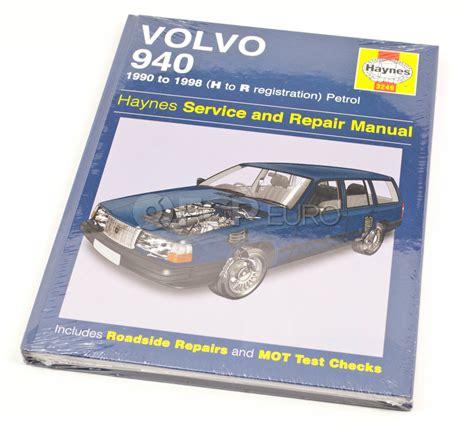 repair anti lock braking 1995 volvo 940 interior lighting volvo haynes repair manual 940 haynes 3249 fcp euro