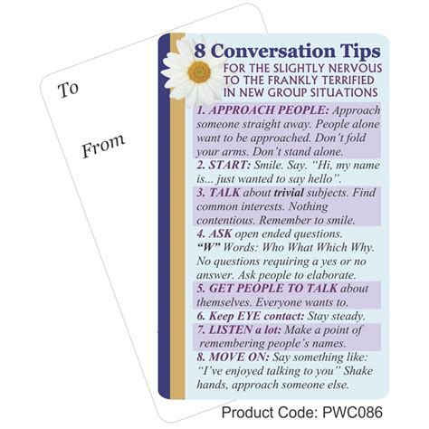 8 Tips For by 8 Conversation Tips