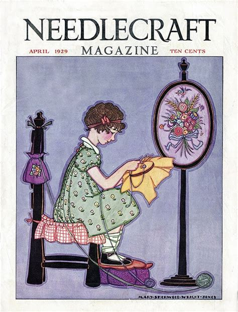 magazine covers by sam fenton at coroflot com 1000 images about vintage needlework and magazine covers