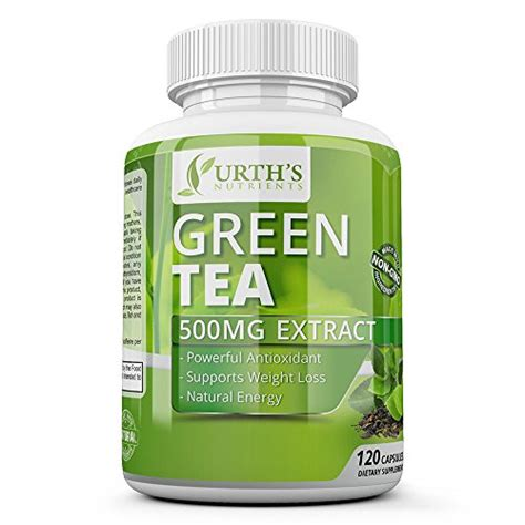 Label Detox Tea Coffee Weight Loss Antioxidant by Green Tea Extract Supplement With Egcg Healthy