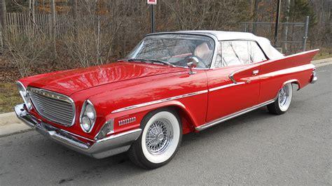 Chrysler Newport Convertible by 1961 Chrysler Newport Convertible 413 Ci Automatic Lot