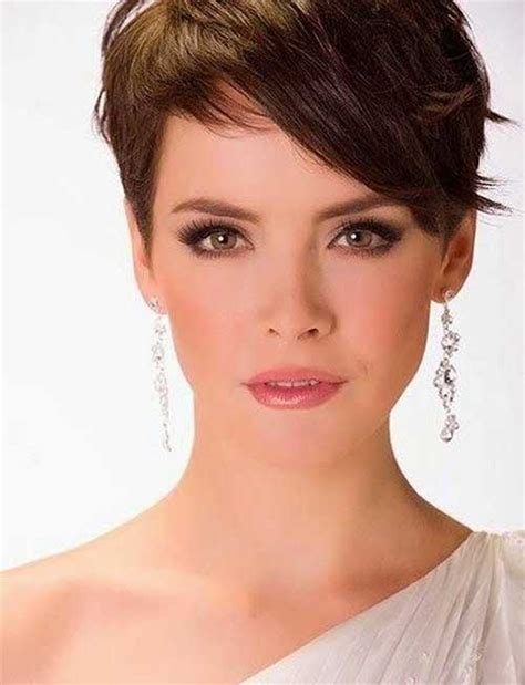 cute short pixie haircuts hairstyles haircuts 2016 2017 15 pixie cuts for thick hair http www short haircut