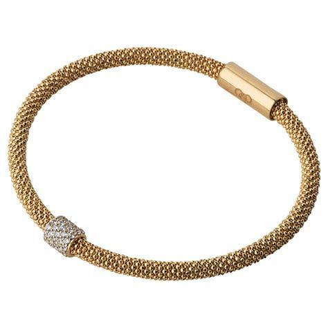 links of effervescence bracelet in gold lyst