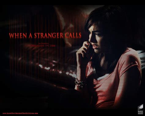when a stranger calls 2006 when a stranger calls movies wallpaper 1074174 fanpop