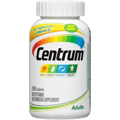 Vitamin Centrum centrum multivitamin multimineral tablets 200 tablets