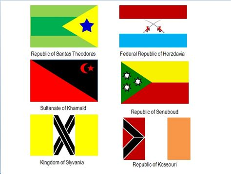 French Country Art Prints - flags of fictional countries by generalalcazar on deviantart