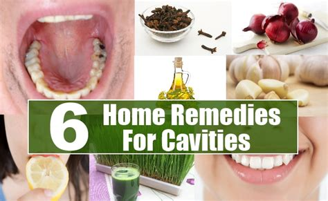 6 effective home remedies for cavities diy health remedy