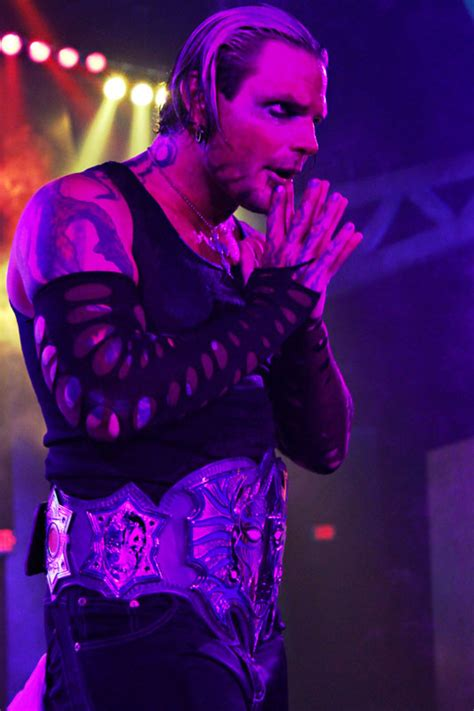 jeff hardy looks horror in high flying jeff hardy looks for a new beginning in tna at
