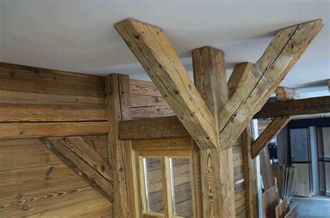 am駭ager une cuisine en longueur poutre d habillage vieux bois l atelier gravier