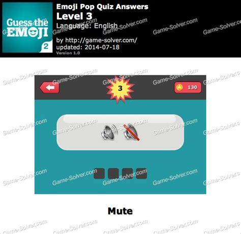 emoji quiz level 3 emoji pop quiz level 3 game solver