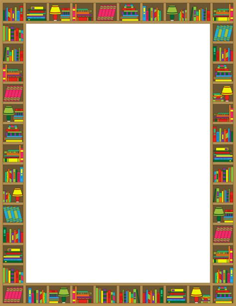 Borders Book Club by Printable Reading Border Free Gif Jpg Pdf And Png