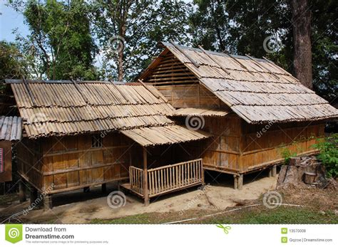Beach House Plans Free bamboo house royalty free stock photos image 13570008