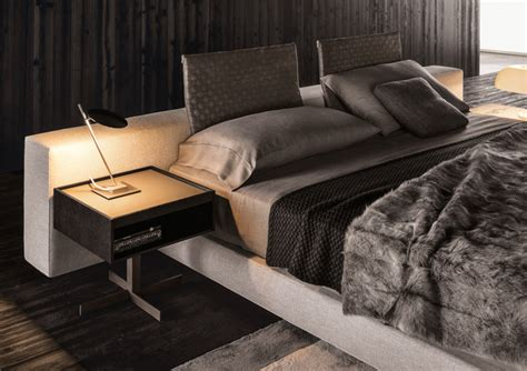 nachttisch yang modern divan bed yang by minotti decor advisor