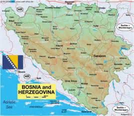 Bosnia World Map by Bosnia Map World