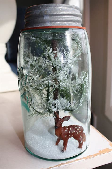 mason jar christmas decorations ideas
