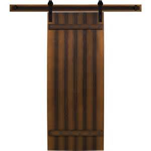 Interior Barn Door Hardware Home Depot Steves Amp Sons 30 In X 90 In Tuscan I Stained Hardwood