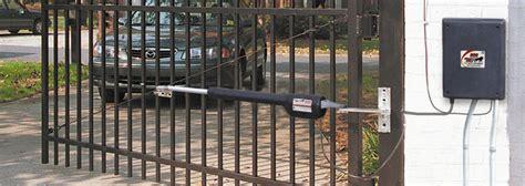 swing gate opener installation mighty mule fm500