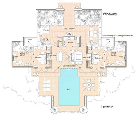 tropical home floor plans minimum island house tropical floor plan portland