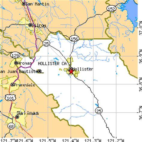 california map hollister hollister california ca population data races