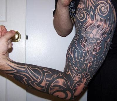 gothic tattoos for men ideas for cool sleeve ideas for