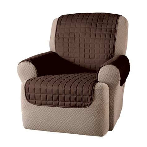 Brown Chair Protector Pets Kids Food Recliner Seat Cover