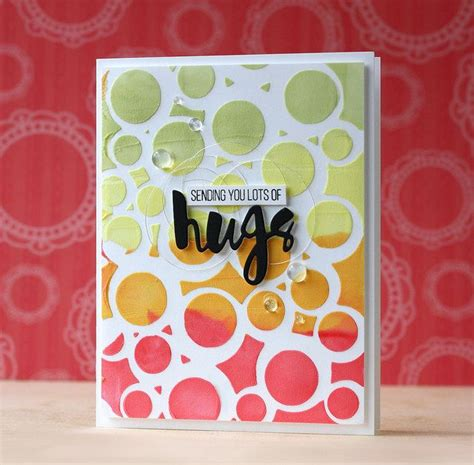 card stencils 17 best images about card inspiration stencils on