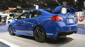 Subaru Wrx Sti Impreza 2018 Subaru Impreza Wrx Sti Detroit 2017 Photo Gallery