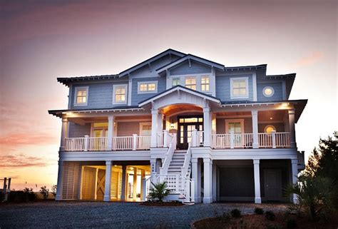 beach house exterior ideas beach house with casual coastal interiors home bunch