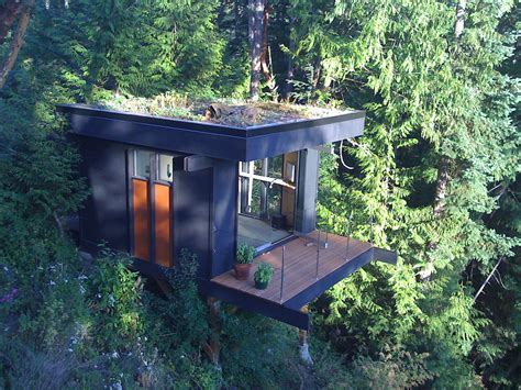 micro cottage tiny house as quiet home office with beautiful view digsdigs