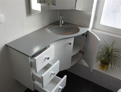 meuble angle salle de bain meuble d angle pour une salle de bain atlantic bain