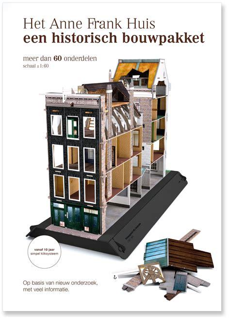 anne frank huis boeken bouwpakket anne frank huis nederlands anne frank media