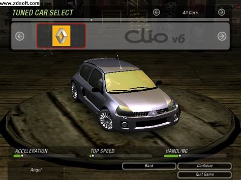 renault clio v6 nfs carbon renault clio sport versiyon 6 ug 2 nfs gen tr need