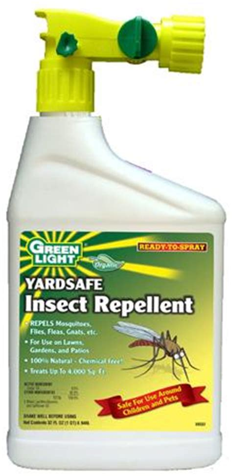 fly repellent for backyard greenlight yardsafe insect repellent rts