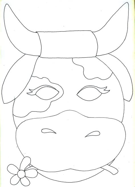 farm animal mask templates best photos of farm animal mask templates to print free