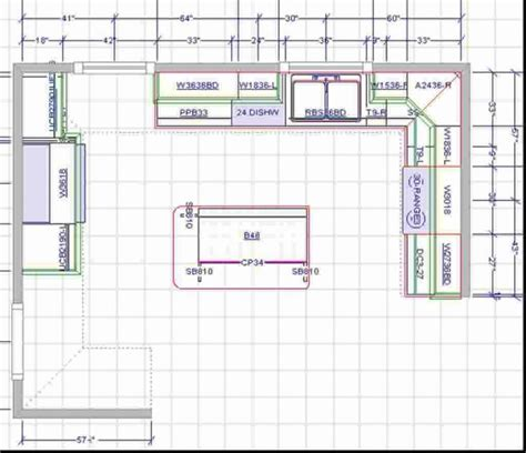 Kitchen Floor Plans Online | 15x15 kitchen layout with island brilliant kitchen floor