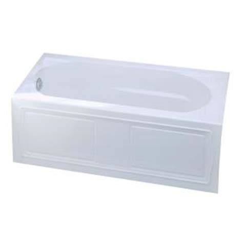 kohler devonshire 5 ft left drain acrylic soaking