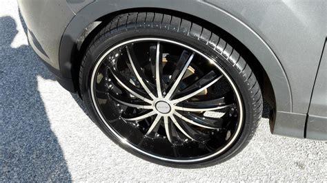 2014 ford escape tire size ford escape custom wheels 22x8 5 et tire size 245 30