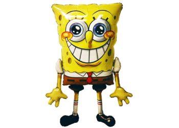 Balon Foil Karakter Spongebob 60 Cm spongebob airwalkers helium balloons perth spongebob