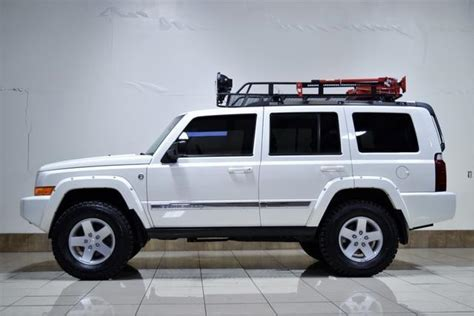 jeep commander lifted 1j8hg582x6c311291 jeep commander limited lifted quadra