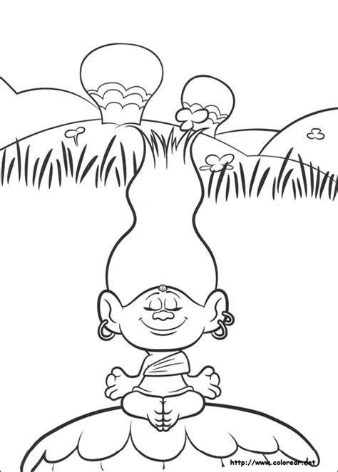 imagenes para pintar trolls dibujos para colorear de trolls
