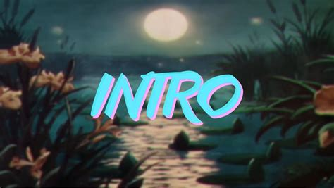 custom intro templates vaporwave intro template hd kasefx intros